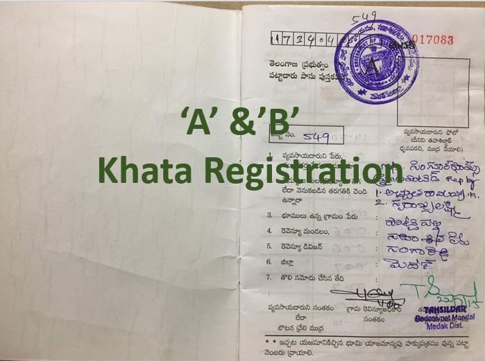 khata registration