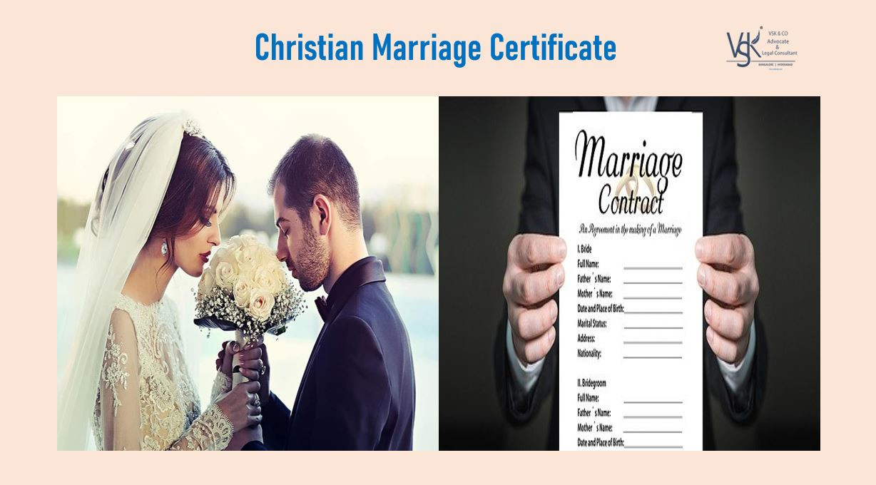 Christian Marriage Certificate