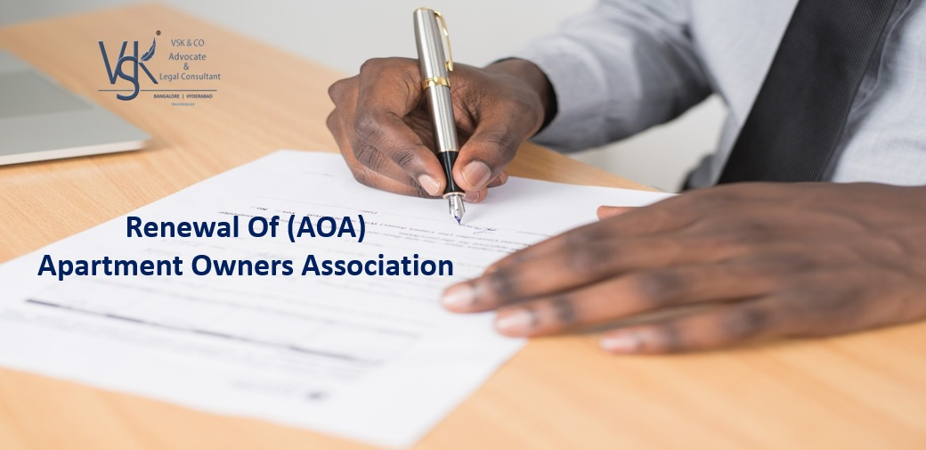 Renewal of Apartment owners association