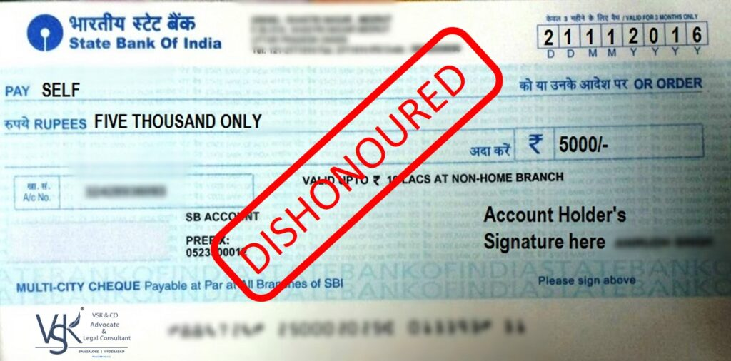 Cheque Bounce Case